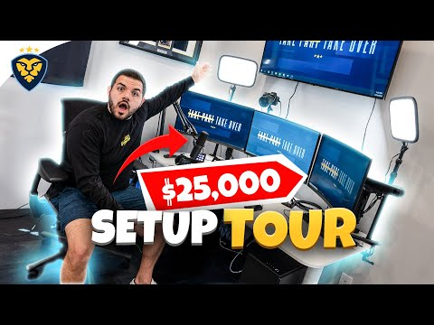 COURAGE'S $25,000 2020 SETUP TOUR!