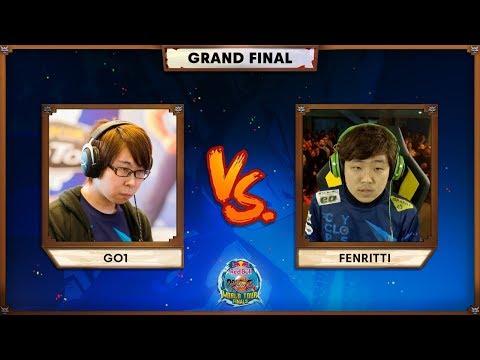 GO1 vs Fenritti [Grand Finals]   Red Bull DBFZ World Tour Finals 2020