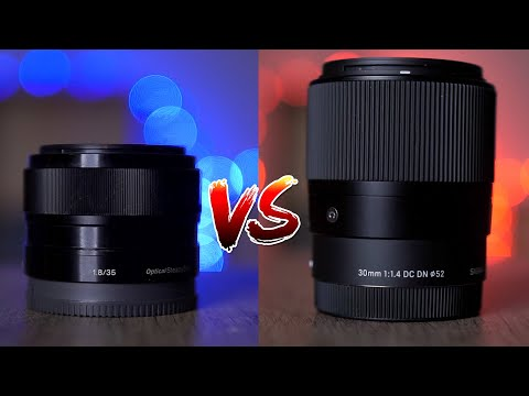 Sony 35mm f1.8 vs Sigma 30mm f1.4 (2020)