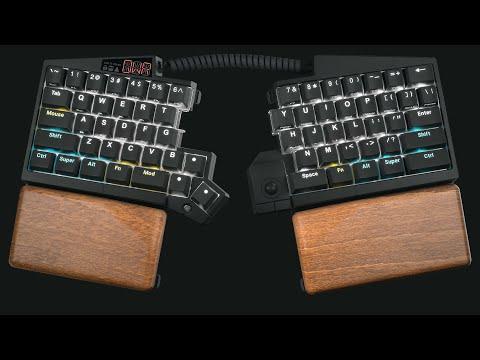 Ultimate Hacking Keyboard trailer