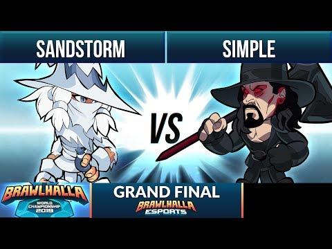 Sandstorm vs simpLe - Grand Final - Brawlhalla World Championship 2019 1v1