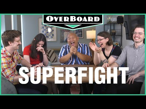 Let's Play SUPERFIGHT feat. Spider-Man: Far From Home's Jacob Batalon!   Overboard, Episode 11