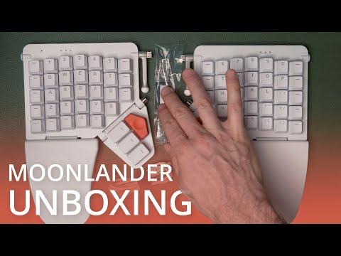 ZSA Moonlander Split Keyboard - Unboxing