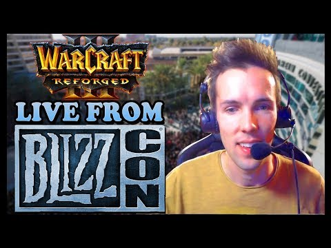 Grubby   Playing WARCRAFT 3 REFORGED Beta Live from Blizzcon 2019