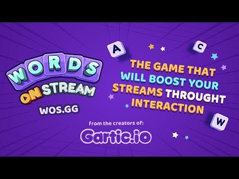 Words On Stream | Interactive game for streamers