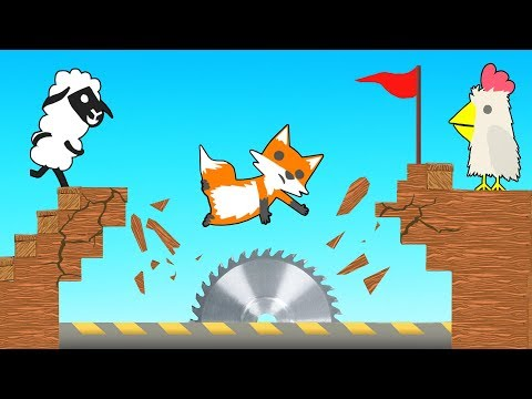 This Is THE MOST BRUTAL Game Ever... (Ultimate Chicken Horse)