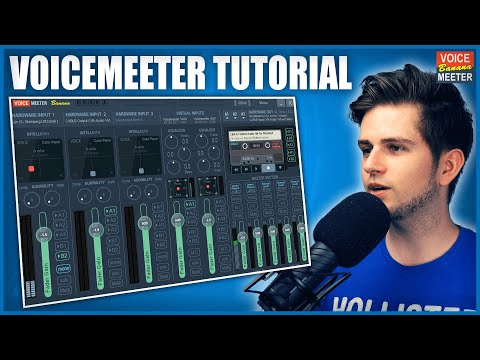 How to Setup VoiceMeeter Banana For Streaming [2020]