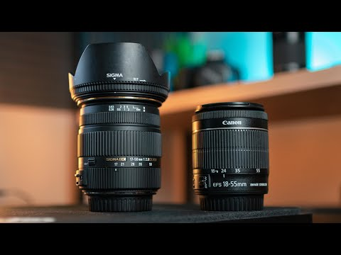Sigma 17-50mm f/2.8 vs Canon 18-55mm f/3.5-5.6