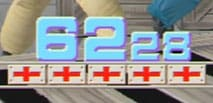 Countdown timer from old playstation game Time Crisis