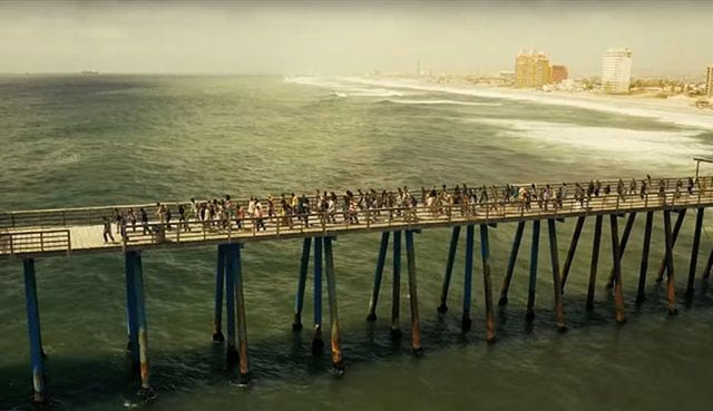 The Walking Dead: The Final Season video game, pier level.