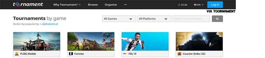 toornament.com - online esports tournaments platform