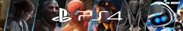 PS4 Subreddit banner