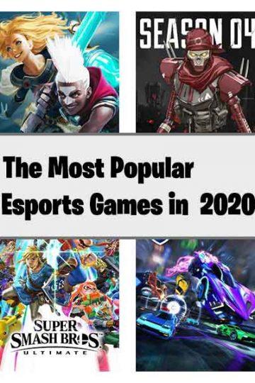 8 most popular esports games