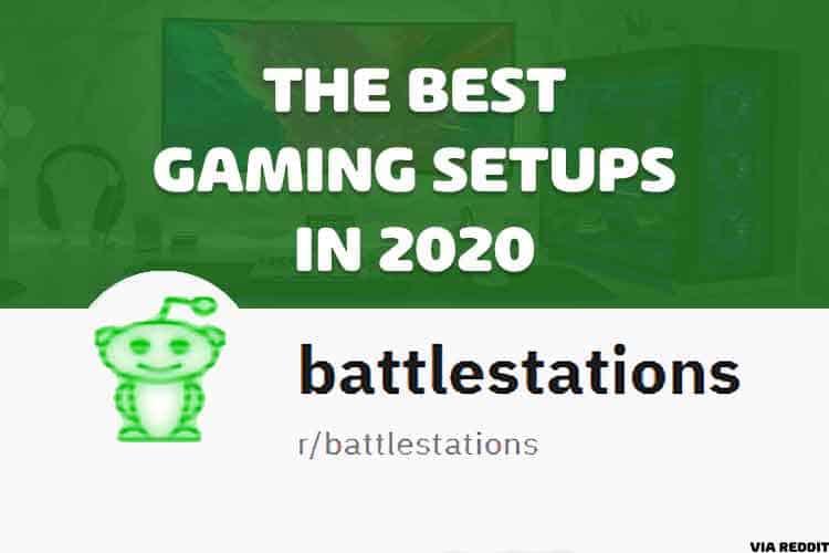 best gaming setup, battlestations