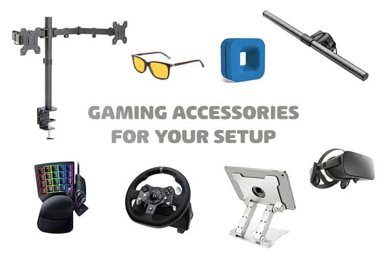 8 gaming setup accessories