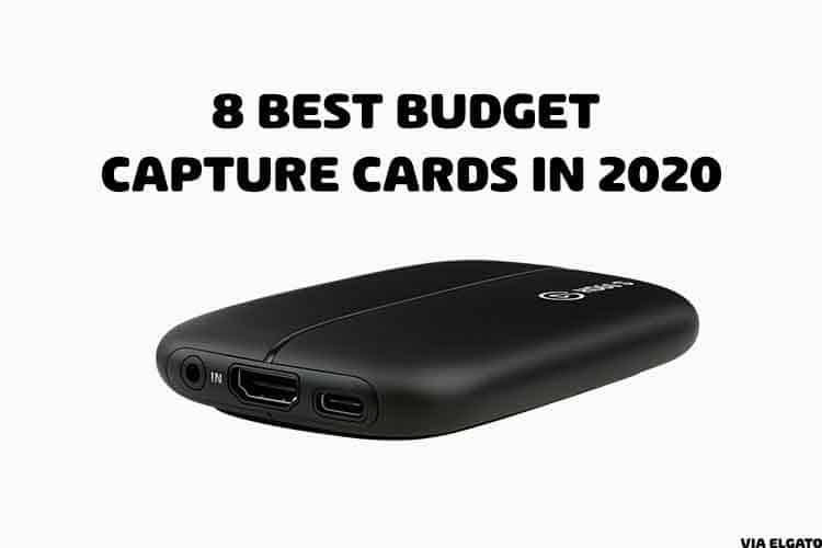 budget capture card cover