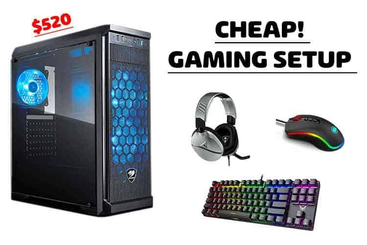 cheap gaming setup