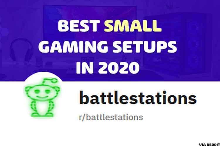 small gaming setup