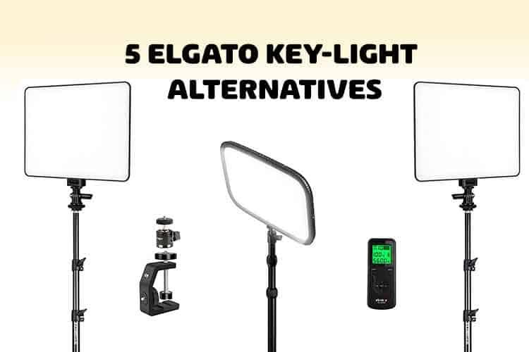 elgato key light alternative