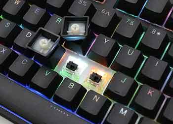 Ducky One keys