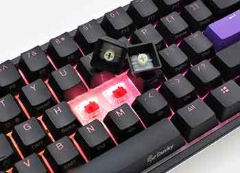 Ducky One 2 Mini keys