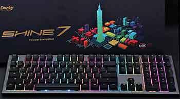 best Ducky Shine 7 keyboard