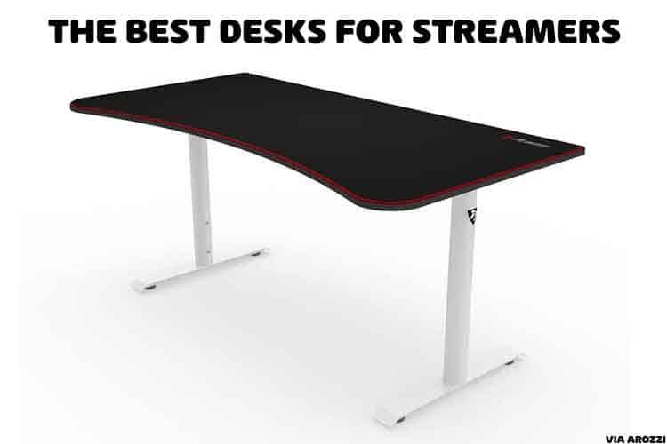 desk for streaming