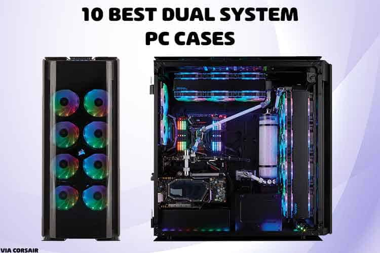 dual-system PC case
