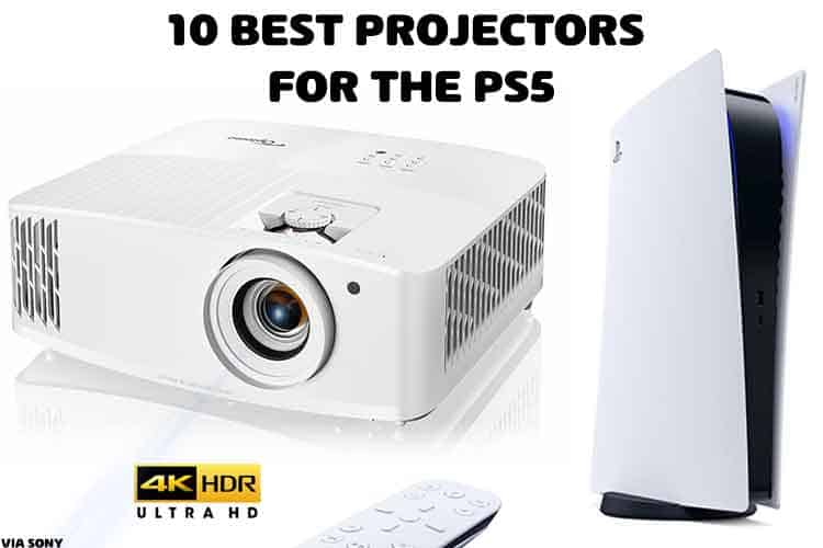 projector for ps5 gaming