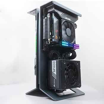 XTIA Xproto vertical PC case