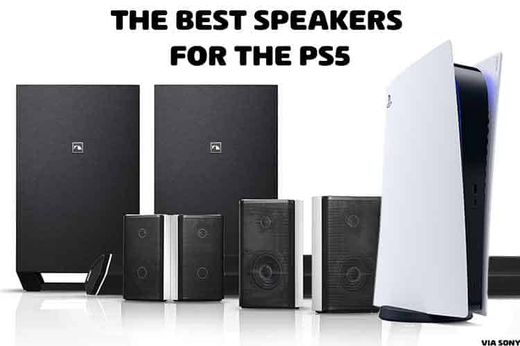 Speakers for PS5
