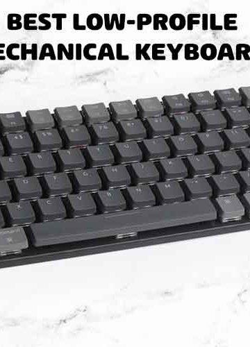 low-profile mechanical keyboard
