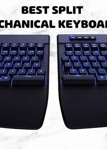 split mechanical keyboard