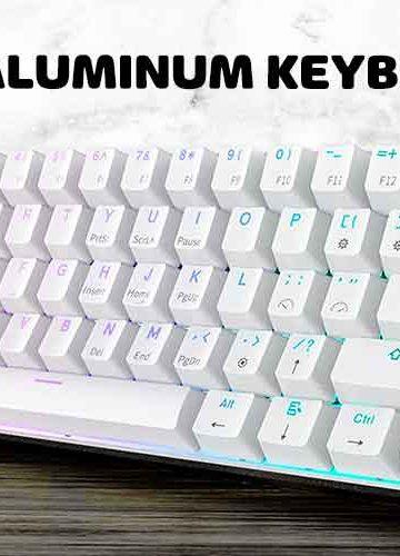 aluminum mechanical keyboard